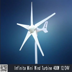 5 Blade Wind Turbine Low Star up Wind Speed pictures & photos