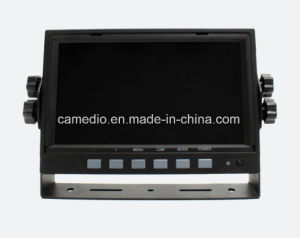 """Heavy Duty Rearview 7"""" Quad Digital Monitor for Excavator, Crane, Truck, Lorry, Farm Vehicle, Fire Truck, Trailer, Mixer pictures & photos"""