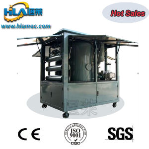 Moveable Weather Proof Type Double Stages Vacuum Insulating Oil Purifier pictures & photos