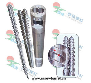 Parallel Twin Screw Barrel for Plastic Extruder Machine (QYY018)