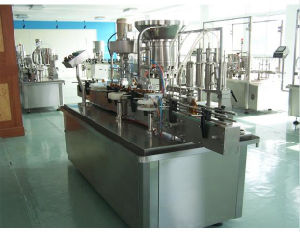 Automatic Liquid Filling and Capping Machine pictures & photos
