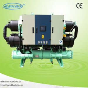 CE Certified Water-Cooled Water Chiller 8.9-130.8kw (HLLW-03SP~45TP) pictures & photos