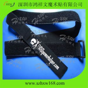 Webbing Strap with Hook and Loop (HXW-C004)