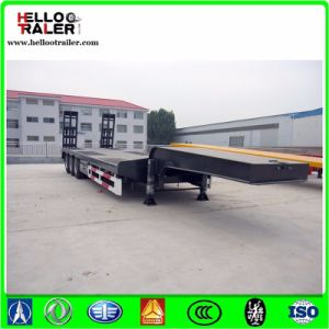 3 Axle 60 Ton Equipment Trailers for Sale pictures & photos