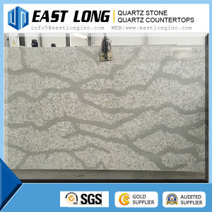 Artificial Marble Color Quartz Stone Slabs and Quartz Countertops Supplier for Kitchen Countertop pictures & photos