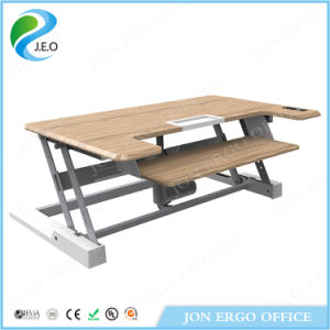 Electric Sit Stand Desk Height Adjustable Standing Desk (JN-LD02E) pictures & photos