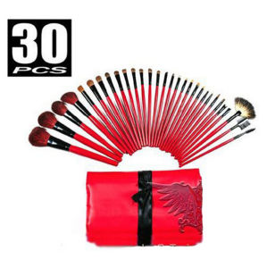 High Quality Multi Brush Red Bag Cosmetic Makeup Brush 30PCS/Set Beauty Needs Makeup Brushes