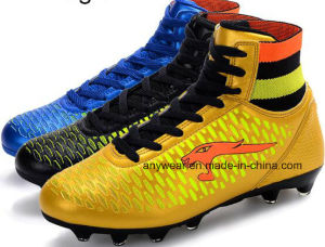 Men′s Soccer Football Boots TPU Outsole Shoes (815-2417) pictures & photos