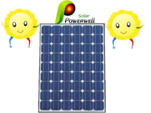 PV Solar Panel for Solar Lamp, Tvs (BW-SM 175M72)
