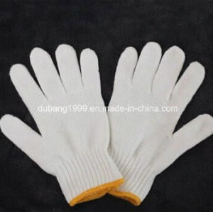 Newest Cotton Knitted Gloves Garden Gloves for Protect Hands pictures & photos