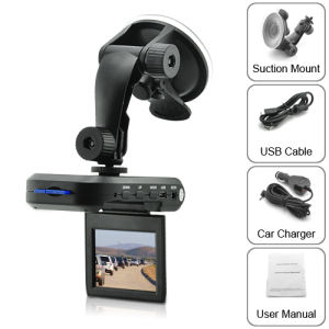 Car DVR with 2.5 Inch TFT LCD Screen + SD Card Slot pictures & photos