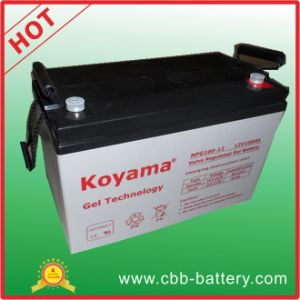 Top Sales 100ah 12V Gel Battery for Solar Panel System pictures & photos