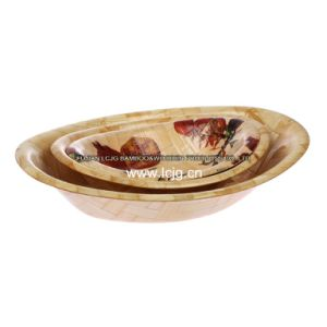 Bowl for Bamboo/Food/Mixing/Daily Use/Dishes/Eco-Friendly/Homeware/Fruit/Salad (LC-523B)
