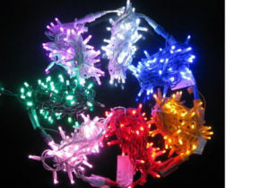 Most Salable Holiday Living Lights Rubber Cable LED String Light pictures & photos