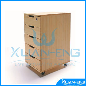 5 Drawer Bamboo Office Cabinet pictures & photos