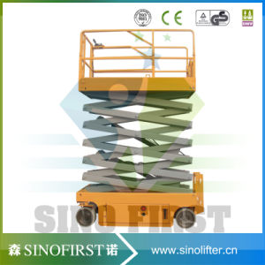 High Quliaty 6m to 12m Self Driven Scissor Lift Platform Working Platform pictures & photos