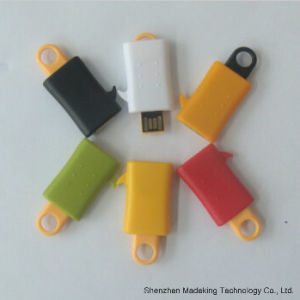 Mini Plastic USB Flash Pen Drive for Customer Color pictures & photos