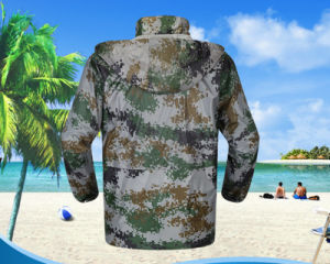 Wholesale Camouflage Two-Part Waterproof Adult Motorcycle Long Sleeves Sets Rain Coat pictures & photos