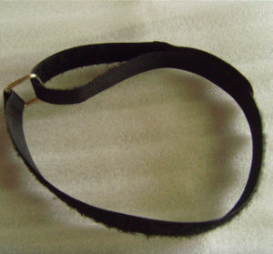 Hook & Loop Strap with Metal Buckle