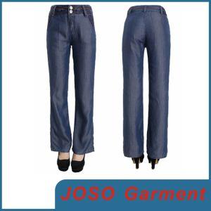Women Wide Leg Jeans (JC1110) pictures & photos