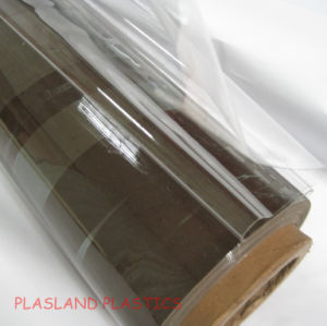 Glass Clear PVC Film with UV Resistant pictures & photos