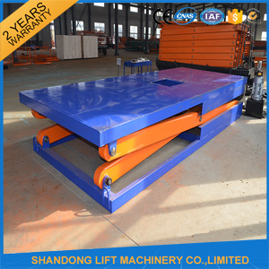 Hydraulic Scissor Car Lift Platform for Home Garage or Parking pictures & photos