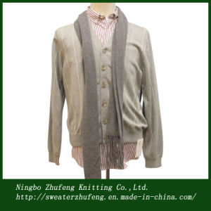 Men′s Designed Cardigan Sweater NBZF0065