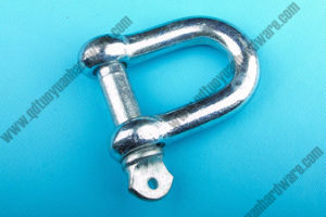 European Type Galvanized Large Dee Shackles Anchor Shackle pictures & photos