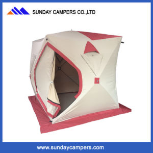 Winter Portable Pop up 3 Person Ice Fishing/Hut/House Bivvy Tent Shelter pictures & photos