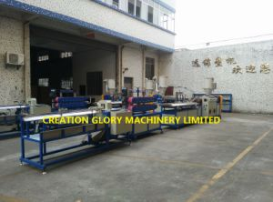 Competitive Rate High Efficiency ABS Profile Plastic Extrusion Line pictures & photos