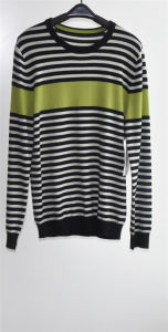 Men 100%Cashmere Long Sleeve Round Neck Knitting Sweater pictures & photos
