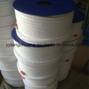 White Cotton Fiber Gland Packing with PTFE Impregnated pictures & photos