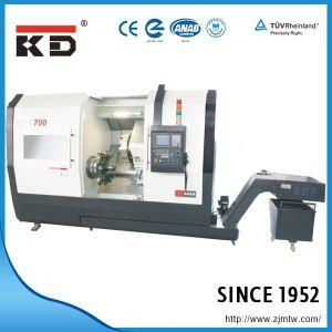 High Precision Slant Bed Wheel CNC Machine L-700 pictures & photos