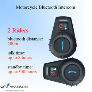 Wansun 10A05A Motorcycle Helmet Bluetooth Headset Motorcycle Bluetooth Intercom