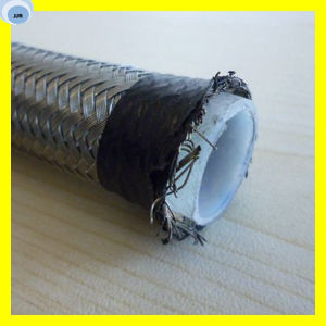 PTFE Hose R14 Hose with Stainless Steel Wire Braided Teflon Hose pictures & photos