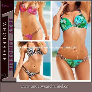 Sexy Women Gorgeous Strappy Swimwear Bikini Simwsuit pictures & photos