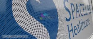Custom Outdoor Advertising Window Vinyl Sticker One Way Vision Sticker pictures & photos
