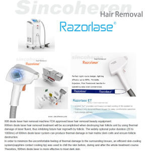 Beijing Sincoheren Diode Laser Hair Removal Cheap Medical Equipment, Alexandrite 808nm/755nm/1064nm pictures & photos
