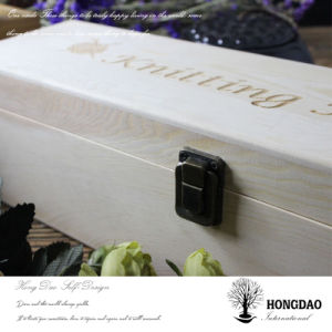 Hongdao Unfinished Wooden Wine Box for Sale pictures & photos