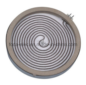 Simplex Winding Ceramic Burner Infrared Coil Radiant Element Heating Plate