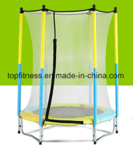 Kids Outdoor Trampoline Bed Professional Trampoline Park with safety Net pictures & photos