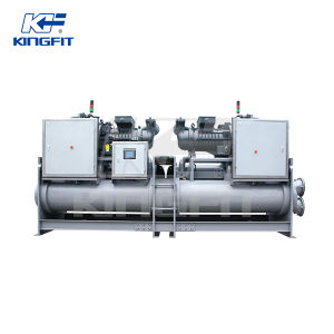 High Efficient Flooded Type Screw Style Chiller pictures & photos