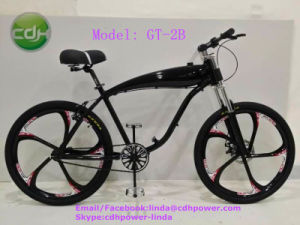 New Arrival Black Engine 80cc with Black Motorized Bicycle, Racing Bike on Sale pictures & photos
