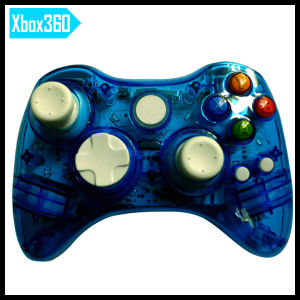 Gamepad Joystick for Microsoft xBox 360 Wireless Controller with LED Light pictures & photos