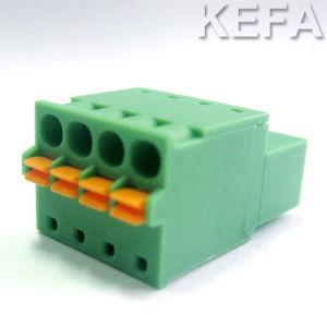 Screwless Pluggable Terminal Block pictures & photos