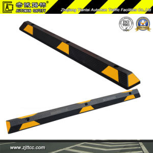 165cm Reflective Industrial Rubber Car Parking Safety Stops (CC-D08) pictures & photos