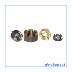 Hex Nut Hexagon Slotted Nut-7/8~3""