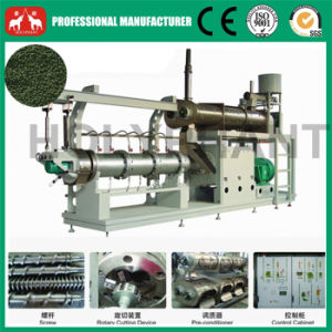Factoryprice Double Screw Floating Fish Feed Extruder pictures & photos