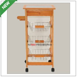 (SM-CC-012) Kitchen Trolley with Drawer&Shelf