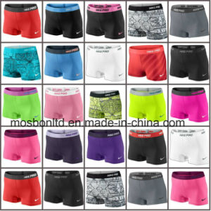 Women′ss Sexy Custom Sports Skin Tight Fitness Compression Shorts pictures & photos